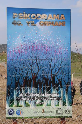 Psikodrama 40. Yıl Ormanı Ağaç Dikimi Töreni 15 Şubat 2015
